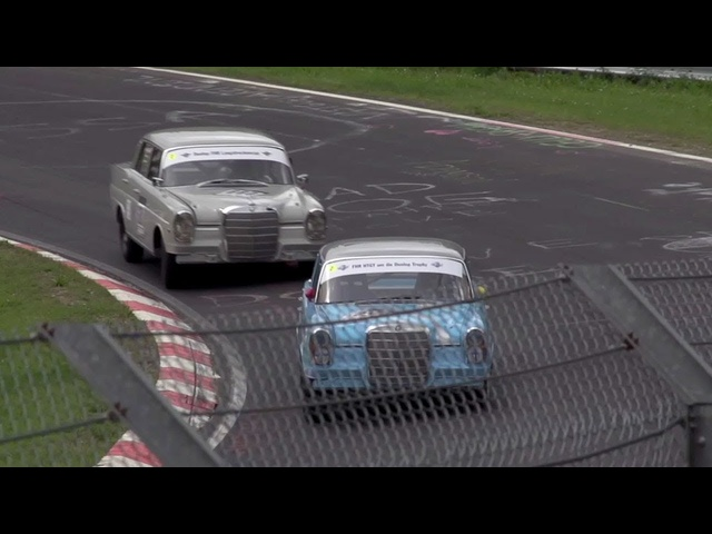 Racing a<em>Mercedes</em> 220 Fintail Sedan at the Nürburgring with David Coulthard -- /CHRIS HARRIS ON CARS