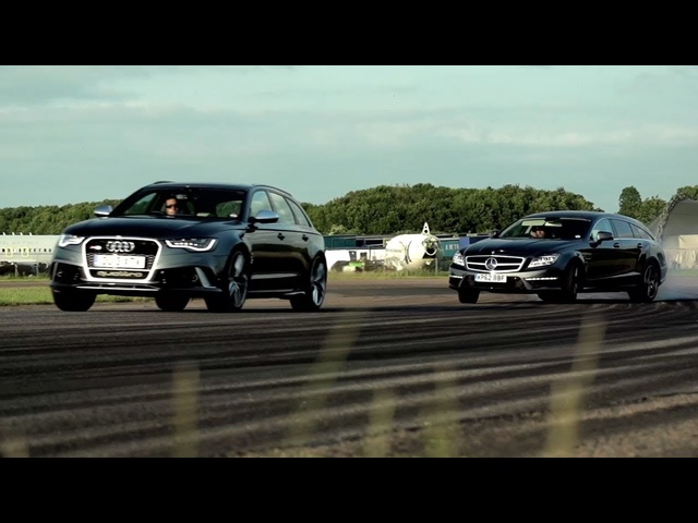 <em>Audi</em> RS6 v Mercedes CLS 63 AMG Shooting Brake: Super Wagons. - /CHRIS HARRIS ON CARS