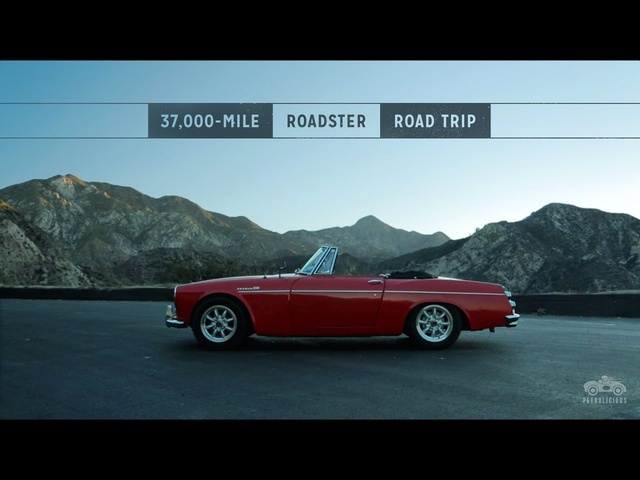 This Datsun Traveled 37,000 miles on aNorth American Road Trip