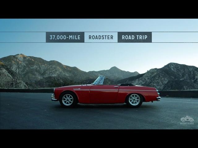 This <em>Datsun</em> Traveled 37,000 miles on aNorth American Road Trip