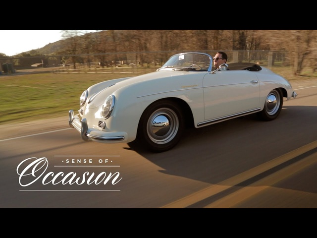 Driving aPorsche 356A Speedster is aSense of Occasion
