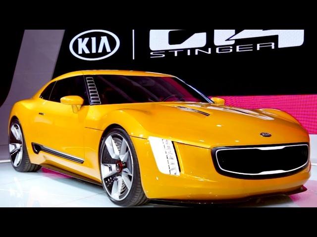 Kia GT4 Stinger Concept | DESIGNER WALKAROUND