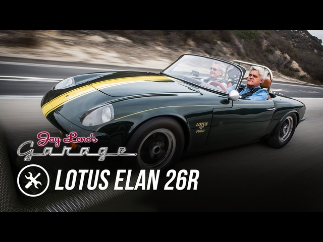 Restoration Finished: 1966 <em>Lotus</em> Elan 26R - Jay Leno's Garage