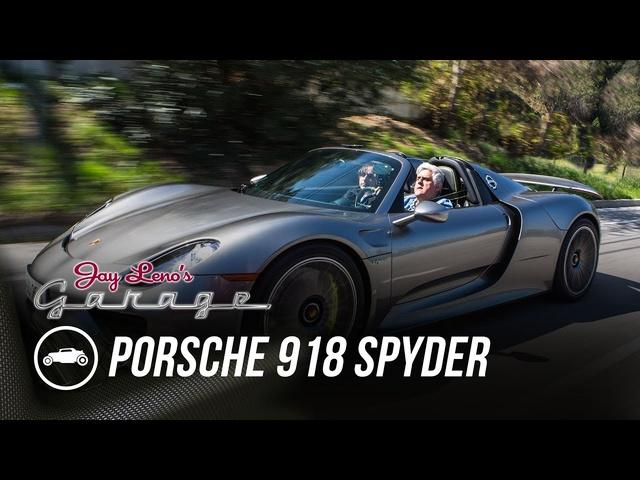 2015 Porsche 918 Spyder -Jay Leno's Garage