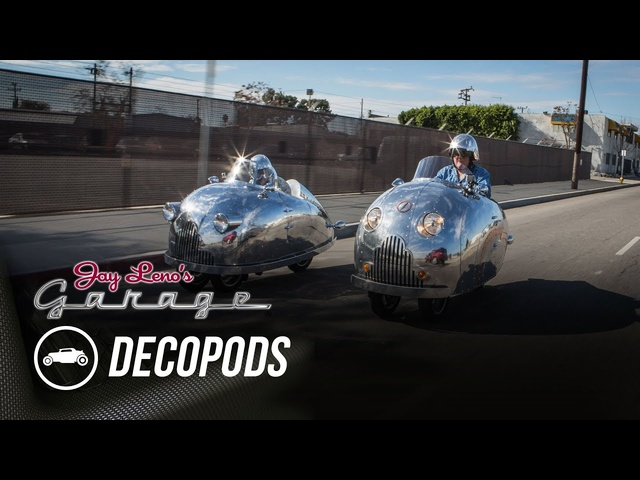 Randy Grubb's Decopods - Jay Leno's Garage