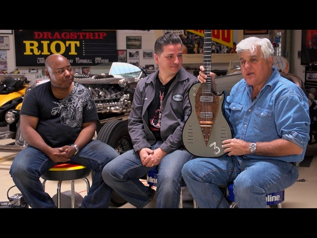 Botafogo Special Guitar -Jay Leno's Garage