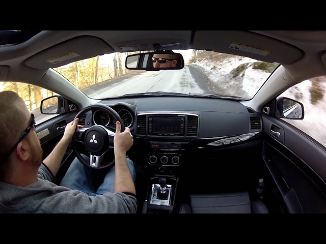 2014 Mitsubishi Lancer Evolution - TestDriveNow.com Review with Steve Hammes | TestDriveNow