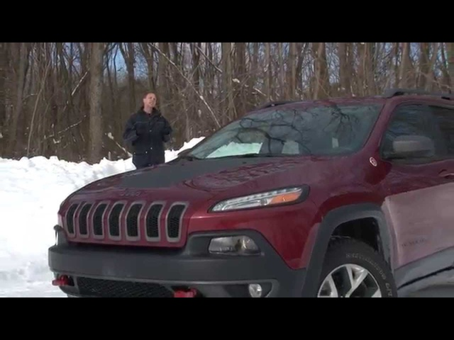 2014 <em>Jeep</em> Cherokee Trailhwak - TestDriveNow.com Review with Steve Hammes