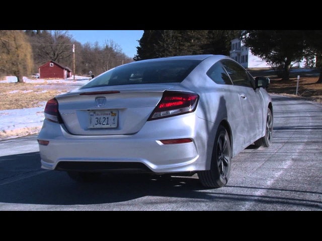 2014 <em>Honda</em> Civic Coupe - TestDriveNow.com Review with Steve Hammes | TestDriveNow