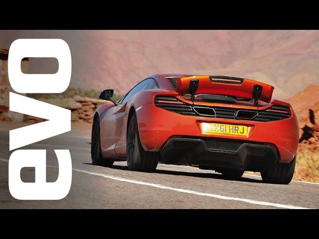 <em>McLaren</em> 12C Morocco road trip | INSIDE evo