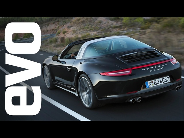 Porsche 911 Targa 4S review with Tiff Needell | evo REVIEWS