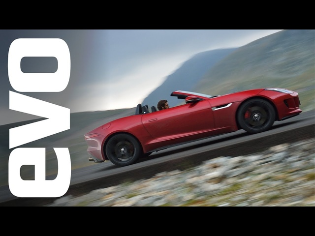 The greatest driving road in the world? <em>Jaguar</em> F-type V8 S in Romania | evo