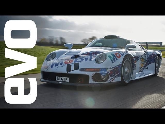 Porsche 911 GT1 driven   INSIDE evo