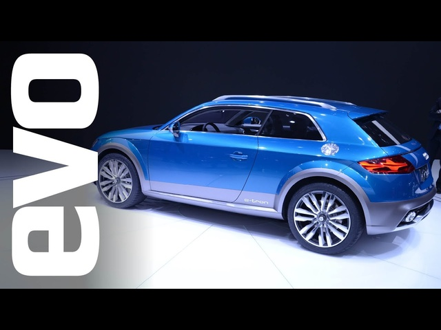 <em>Audi</em> Allroad Shooting Brake at Detroit 2014 | evo MOTOR SHOWS