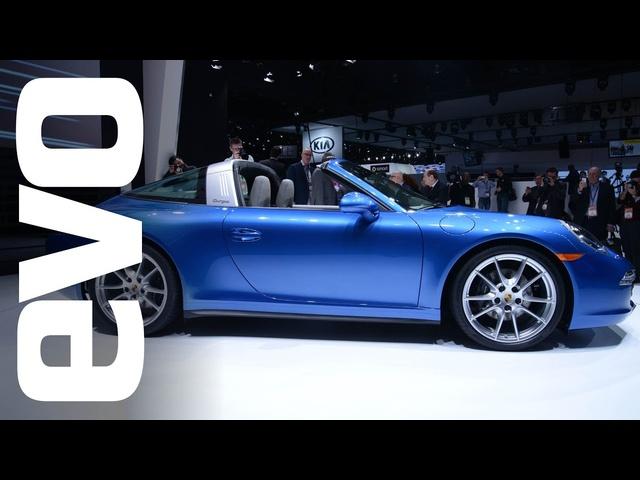 Porsche 911 Targa and Macan at Detroit 2014 | evo MOTOR SHOWS
