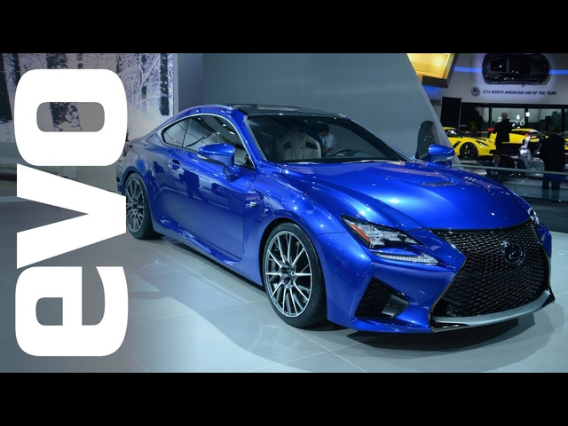 Lexus RC-F at Detroit 2014 | evo MOTOR SHOWS