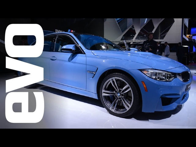<em>BMW</em> M3 and M4 at Detroit | evo MOTOR SHOWS