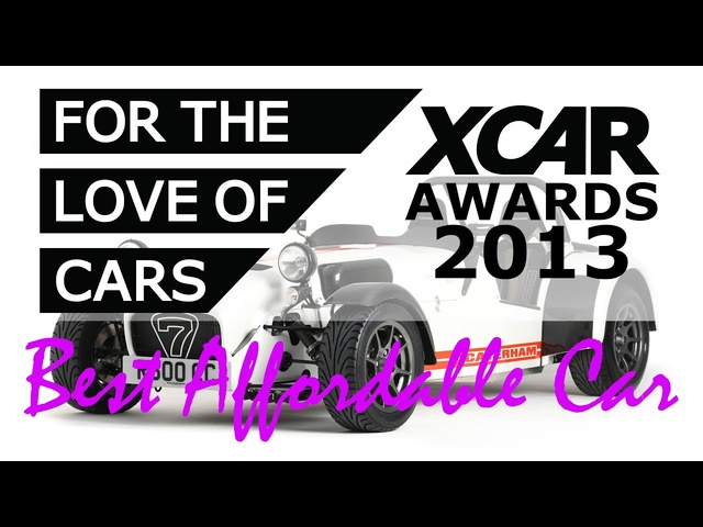 XCAR Awards 2013 - Best Affordable Car