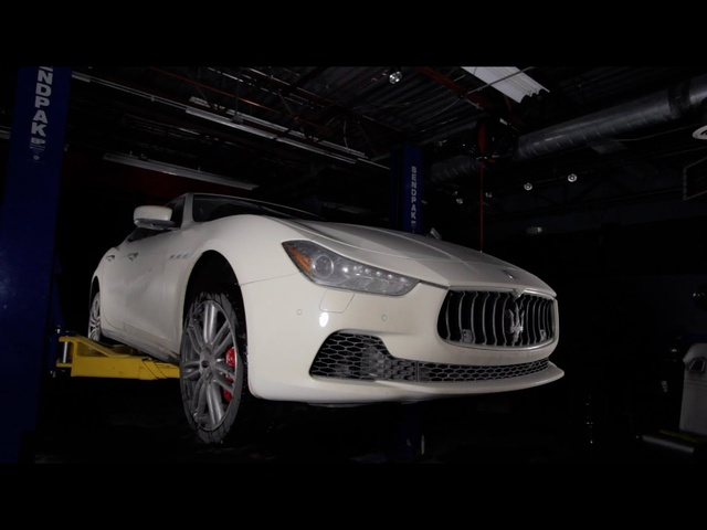 2014 Maserati Ghibli S Q4 - Using AWD to Strike Up Sales - C/D Underbelly