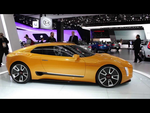 Kia GT4 Stinger Concept - Up Close & Personal - 2014 Detroit Auto Show