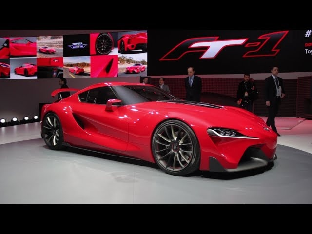 <em>Toyota</em> FT-1: How and Why Its Designers Created This Awesome Concept - 2014 Detroit Auto Show