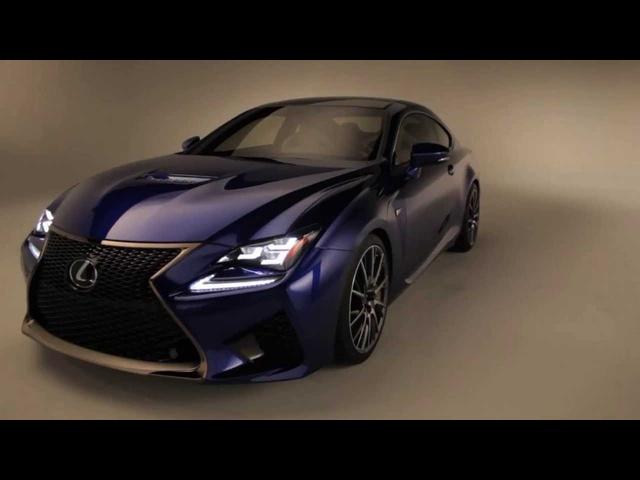 2015 Lexus RC F -Up Close & Personal
