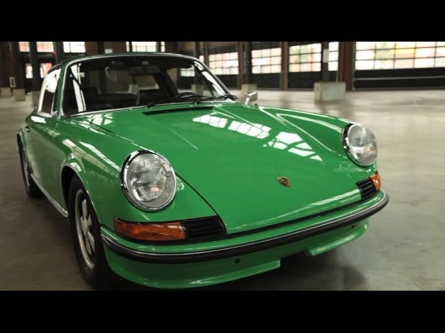 1973 Porsche 911E Targa - Up Close & Personal