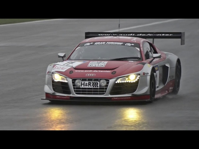 <em>Audi</em> R8 LMS Ultra Race Car at Nurburgring - /CHRIS HARRIS ON CARS