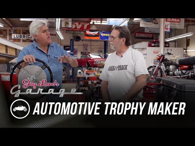 Automotive Trophy Sculptor Dwight H. Bennett -Jay Leno's Garage