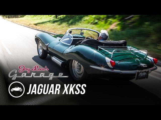 Steve McQueen's 1956 Jaguar XKSS -Jay Leno's Garage