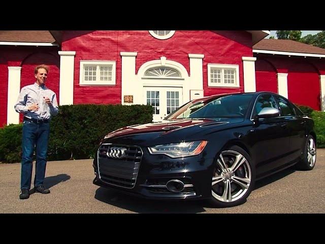 2014 Audi S6 -TestDriveNow.com Review by Auto Critic Steve Hammes | TestDriveNow