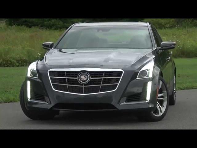 2014 Cadillac CTS Vsport -TestDriveNow.com Review by Auto Critic Steve Hammes | TestDriveNow