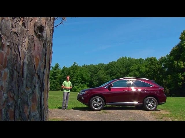 2015 Lexus RX 450h -TestDriveNow.com Review by Auto Critic Steve Hammes