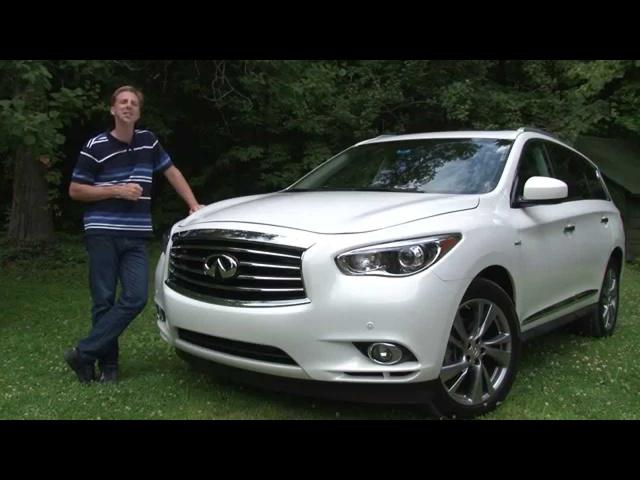 2014 Infiniti QX60 Hybrid -TestDriveNow.com Review by Auto Critic Steve Hammes