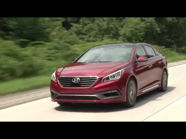 2015 <em>Hyundai</em> Sonata -TestDriveNow.com Review by Auto Critic Steve Hammes | TestDriveNow
