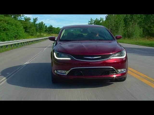 2015 Chrysler 200C AWD - TestDriveNow.com Review by Auto Critic Steve Hammes | TestDriveNow