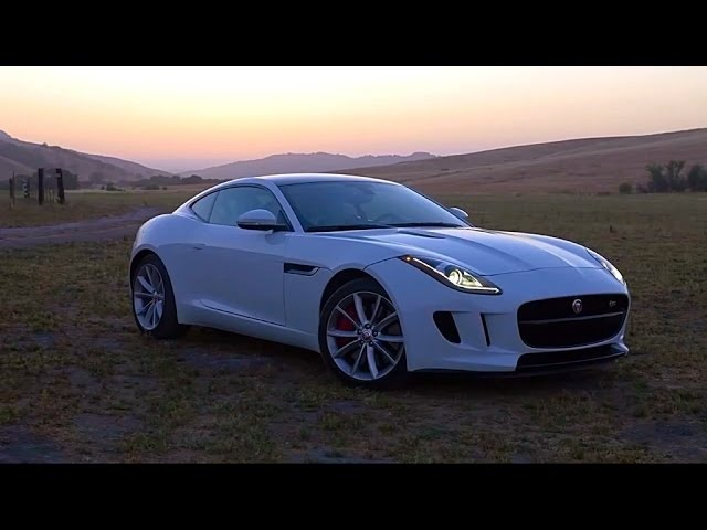 2015 <em>Jaguar</em> F-Type Coupe - TestDriveNow.com Review by Auto Critic Steve Hammes | TestDriveNow