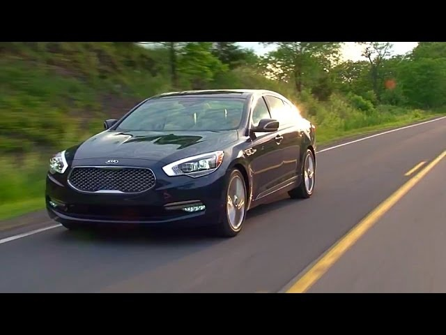 2015 Kia K900 -TestDriveNow.com Review by Auto Critic Steve Hammes | TestDriveNow