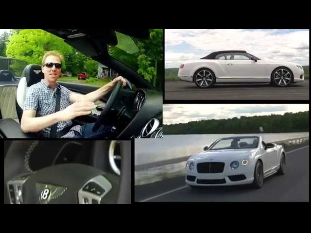 2014 <em>Bentley</em> Continental GT V8 S Convertible - TestDriveNow.com Review by Auto Critic Steve Hammes