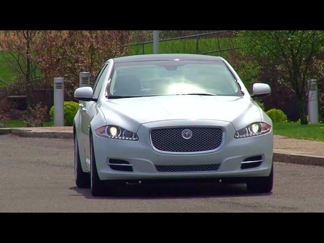 2014 Jaguar XJ AWD -TestDriveNow.com Review by Auto Critic Steve Hammes | TestDriveNow
