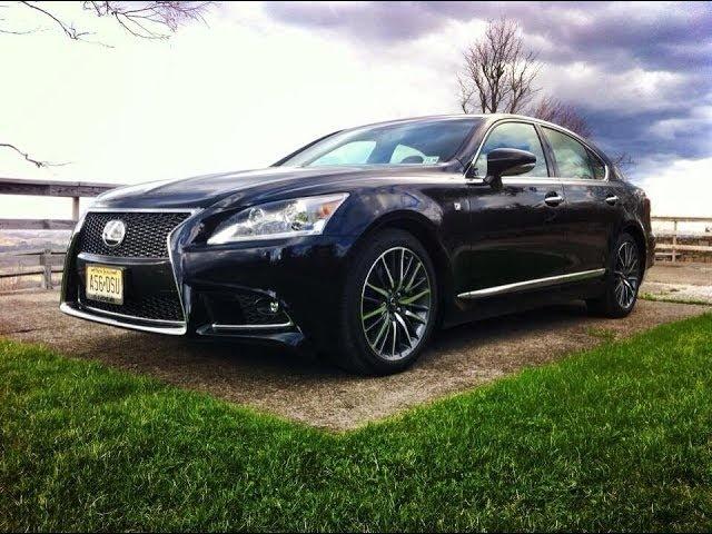 2014 Lexus LS F SPORT -TestDriveNow.com Review by Auto Critic Steve Hammes | TestDriveNow