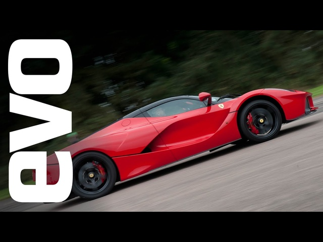 LaFerrari flat out at VMax200 evoMax event | evoTV