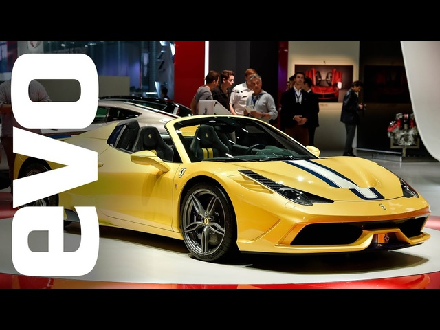 Ferrari 458 Speciale Aperta at Paris 2014 | evo MOTOR SHOWS