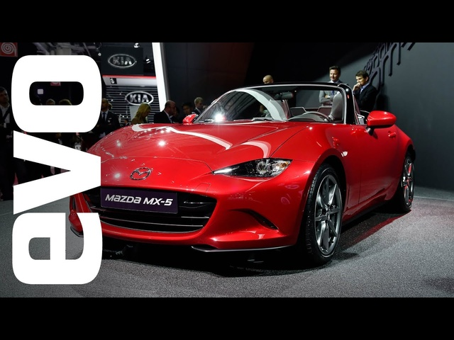 <em>Mazda</em> MX-5 at Paris 2014 | evo MOTOR SHOW