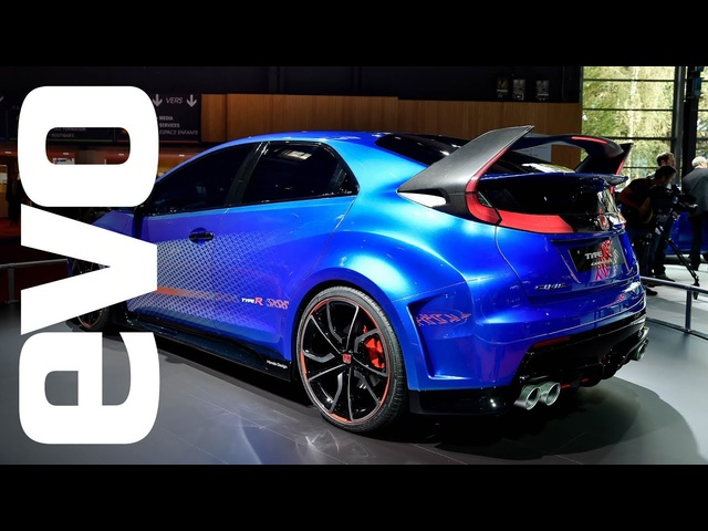 Honda Civic Type-R concept at Paris | evo MOTOR SHOWS