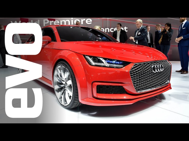 Audi TT Sportback and R8 LMX at Paris 2014 | evo MOTOR SHOWS