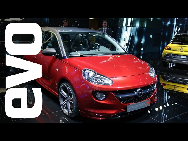 Opel Adam S at Paris 2014 | evo MOTOR SHOWS