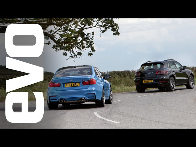 Porsche Macan Turbo v <em>BMW</em> M3 | evo DRAG BATTLE