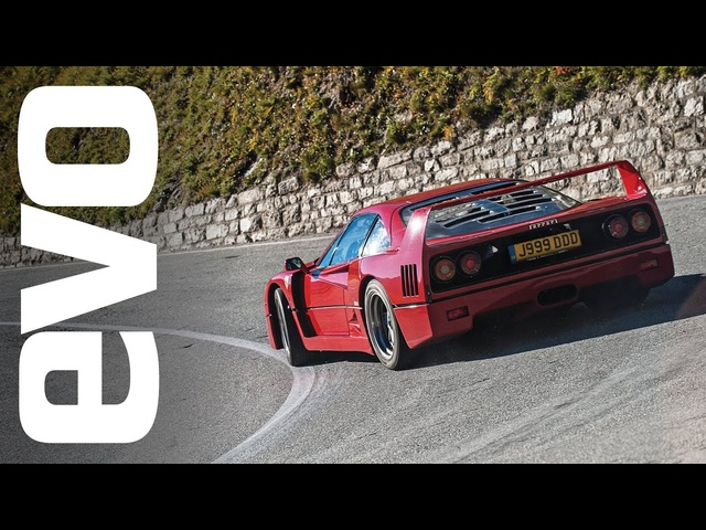 <em>Ferrari</em> F40 in the Alps | INSIDE evo