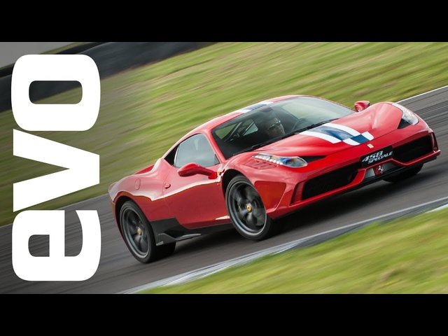 <em>Ferrari</em> 458 Speciale: on track at Anglesey | evo REVIEW